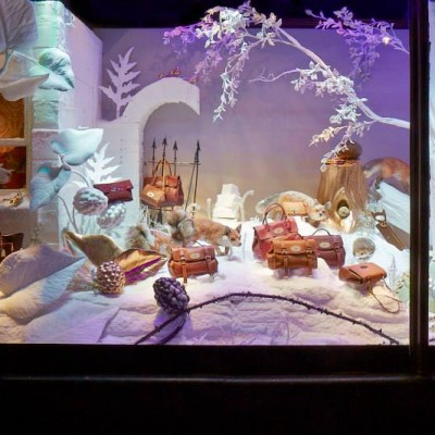 MULBERRY Christmas Fairy Tales at Harrods by Shona Heath