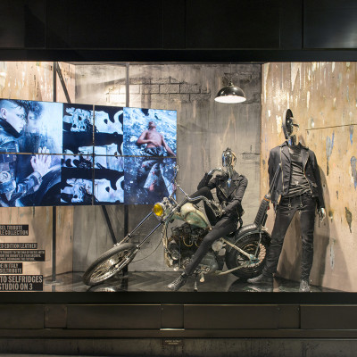 DIESEL Spring Window Display at Selfridges by Millington Associates