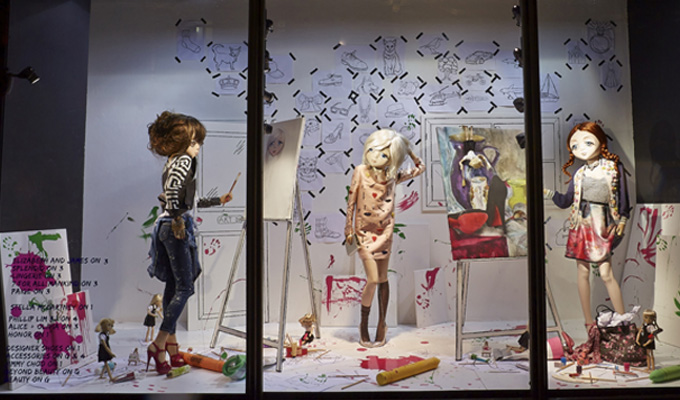 best-window-displays_harvey-nichols_2014_spring_fashion-school_03