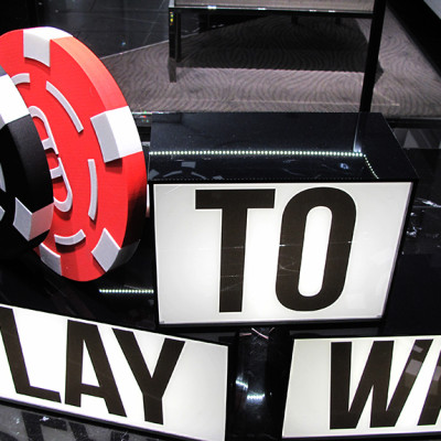 "Philipp Plein ""Play to Win"" Window Display"