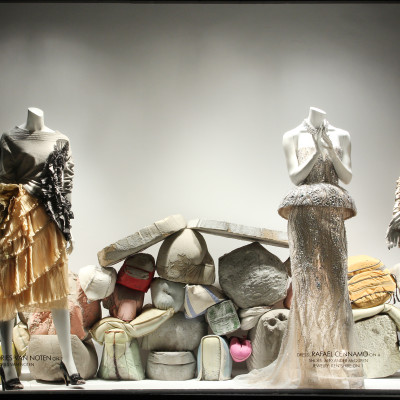"""Art Matters"" Spring Window Displays at Bergdorf Goodman"