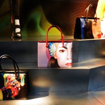 Prada Spring Summer Window Displays at Bergdorf Goodman