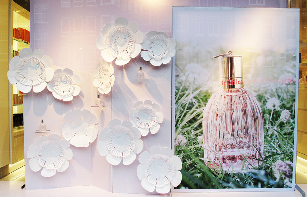 'See by Chloé' Perfume Window Display