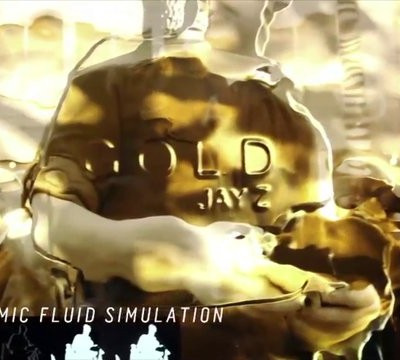 Jay Z 'Gold' Fragrance Interactive Window by kbs+