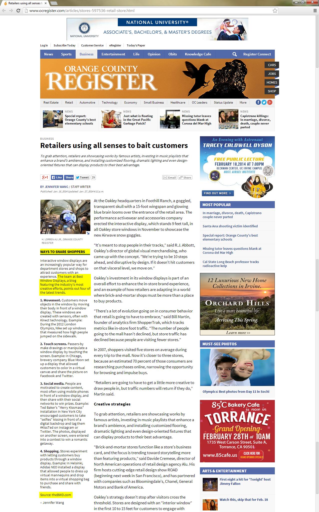 best-window-displays_press_orange-county-register_2014-01-15_ways-to-snare-shoppers