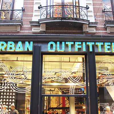 Urban Outfitters Introduction Window Display