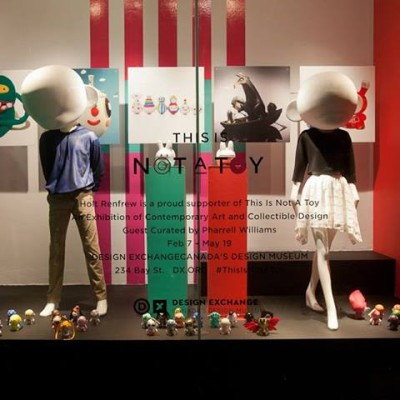 Holt Renfrew 'THIS IS NOT A TOY' Window Display