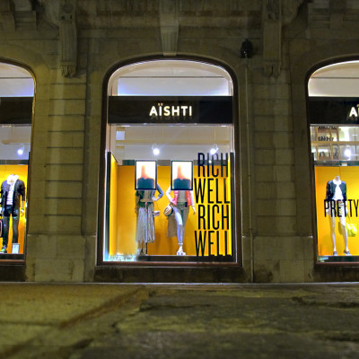 AISHTI Spring Window Display by ARTE VETRINA PROJECT