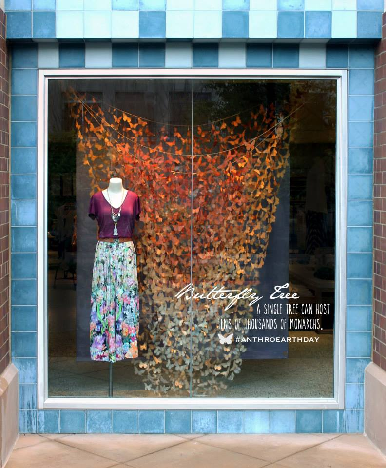 best-window-displays_anthropologie_2014_spring_earth-day_monarch-butterfly_09