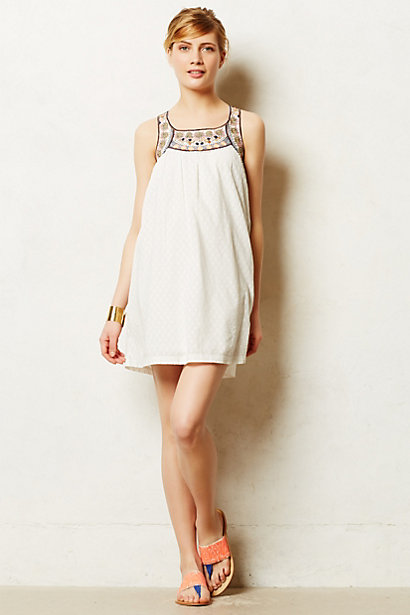 Anthropologie Toda Vista Swing Dress