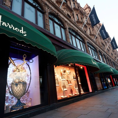 Fabergé Easter Window Displays at Harrods