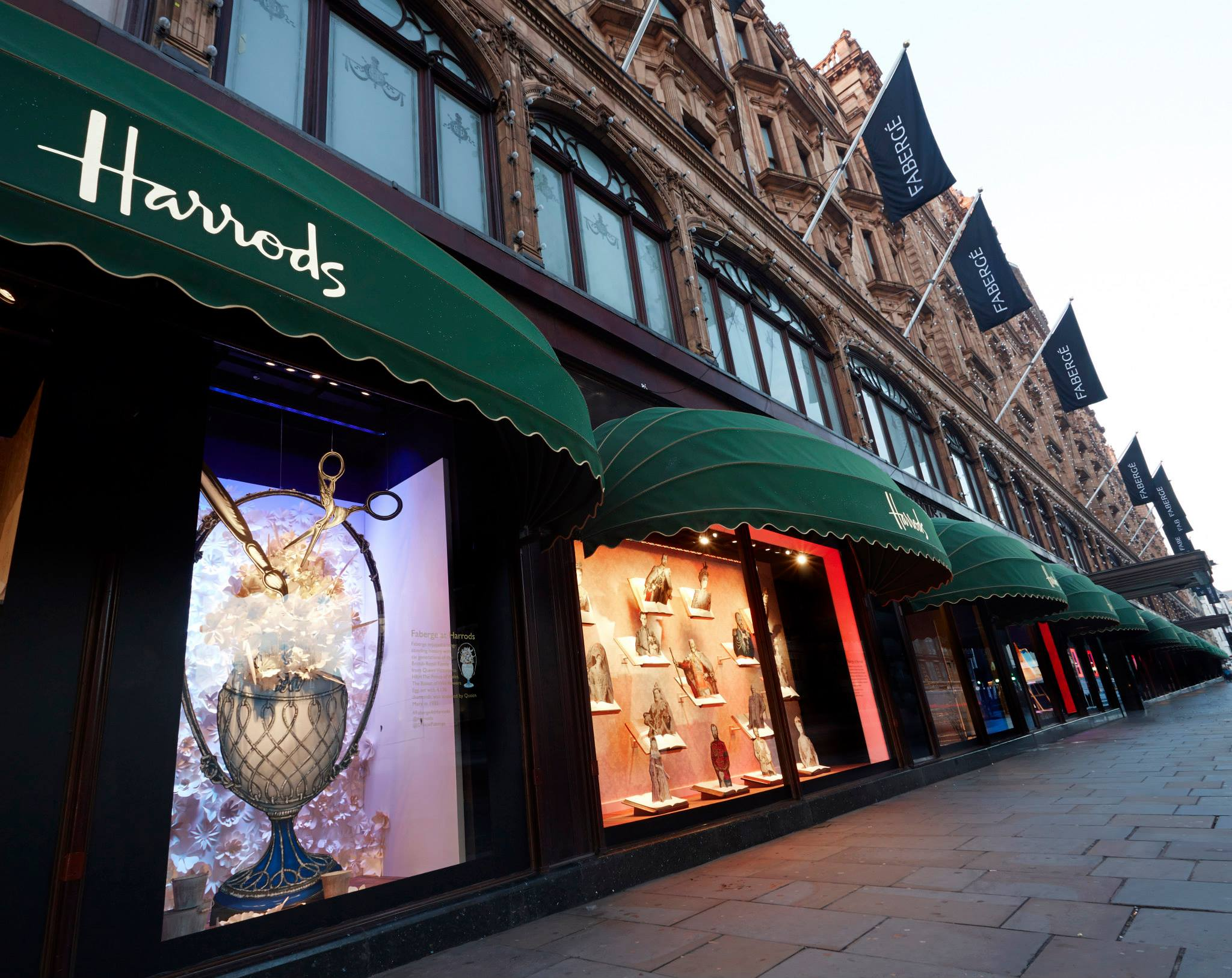 faberg easter window displays at harrods best window displays. Black Bedroom Furniture Sets. Home Design Ideas