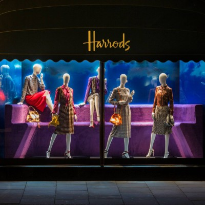 Pradasphere Window Displays at Harrods
