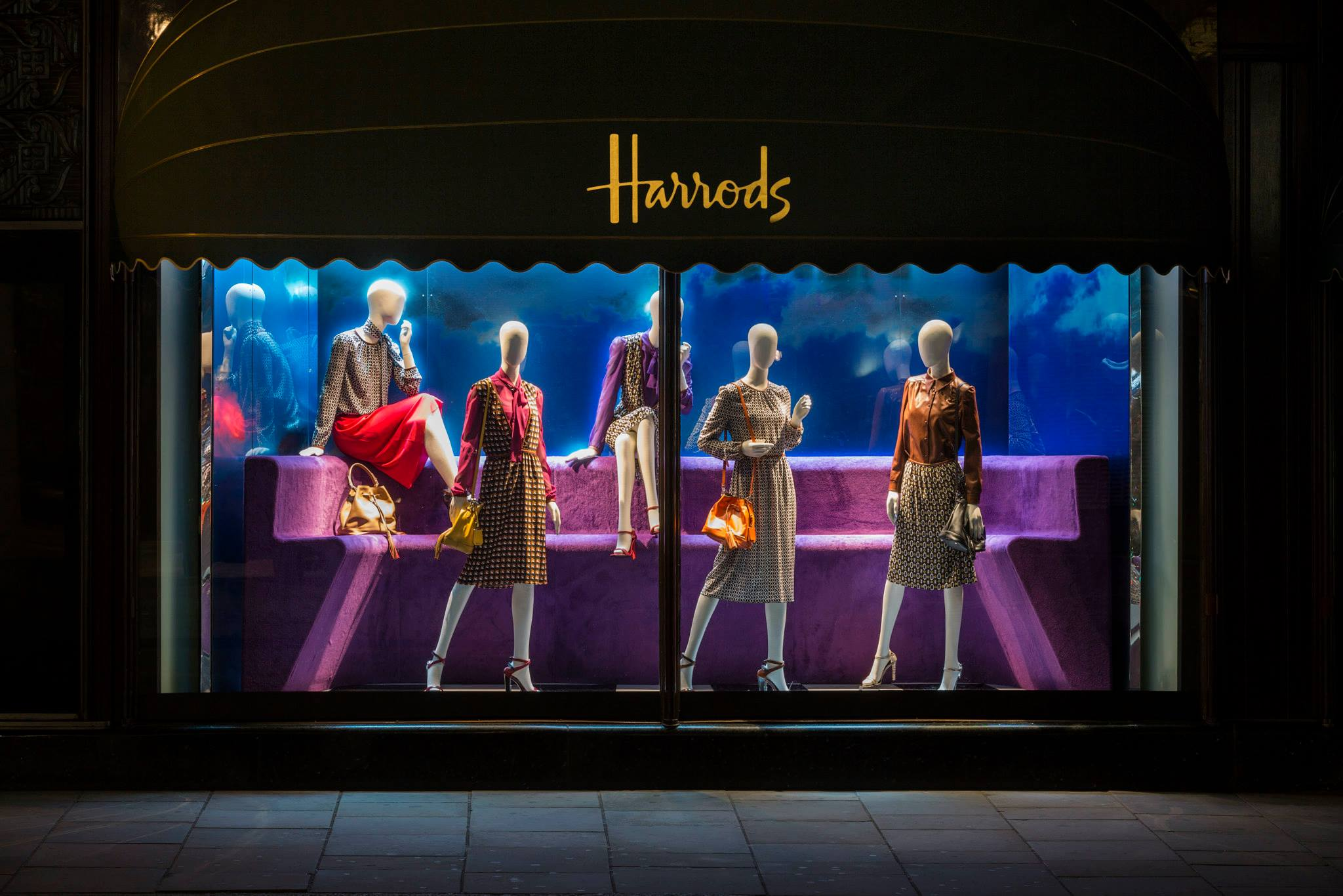 Pradasphere Window Displays At Harrods Best Window Displays
