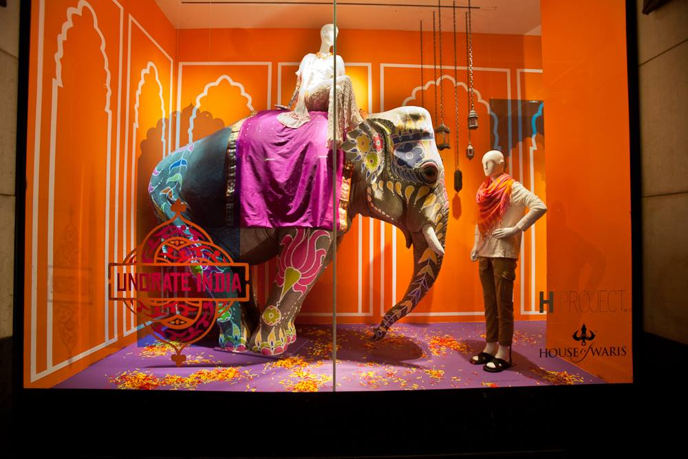 37283f5eace3 H Project  Uncrate India  Window Display at Holt Renfrew