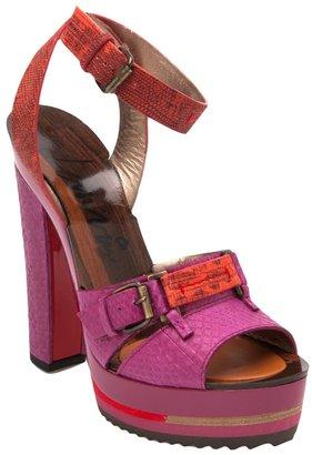 Lanvin platform sandal