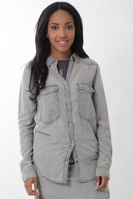 Calvin Klein Jeans Gray blouse