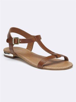 CYRILLUS Metal Heel Sandal