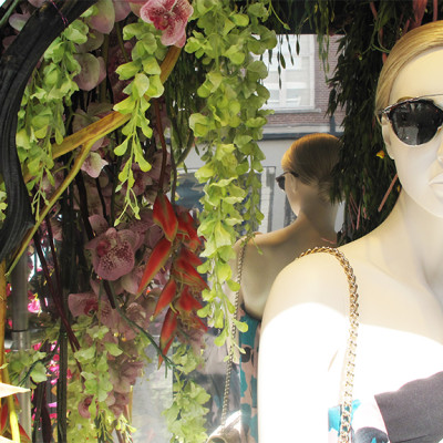 Dior Floral Spring Window Display 2014