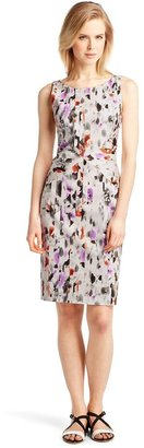 HUGO BOSS Cotton-blend sheath dress 'Dazehra'