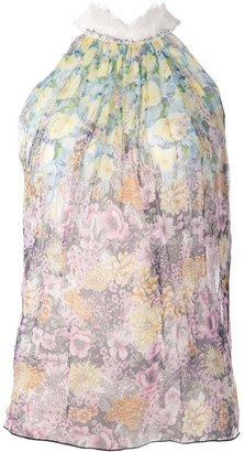 Nina Ricci Floral blouse