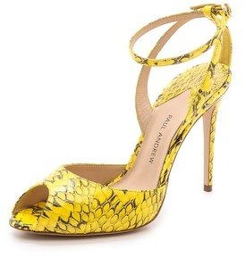 Paul Andrew Snakeskin Sandals