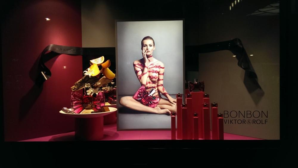 Viktor Amp Rolf Bonbon Fragrance Window Display At Selfridges