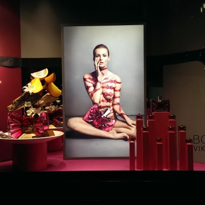 Viktor&Rolf Bonbon Fragrance Window Display at Selfridges