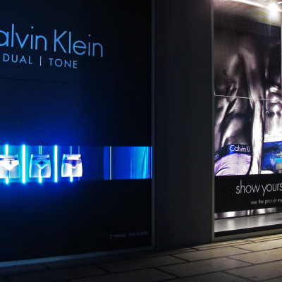 Calvin Klein 'Dual Tone' Window Display by ARTE VETRINA PROJECT