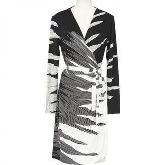 Diane von Furstenberg Bicolore wrap dress