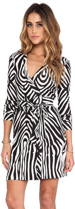 Diane von Furstenberg Short Jeanne Wrap Dress