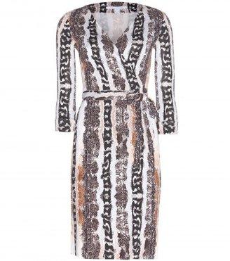 Diane von Furstenberg Silk Jersey New Julian Wrap Dress