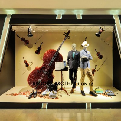 'The Objects' Window Displays at Harvey Nichols HK
