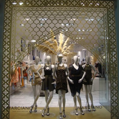 Babylon Summer Window Display at Marciano