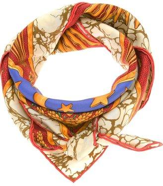 Hermès Vintage Sun Print scarf