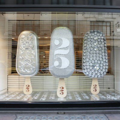 'Make My Magnum' Selfridges Window Display
