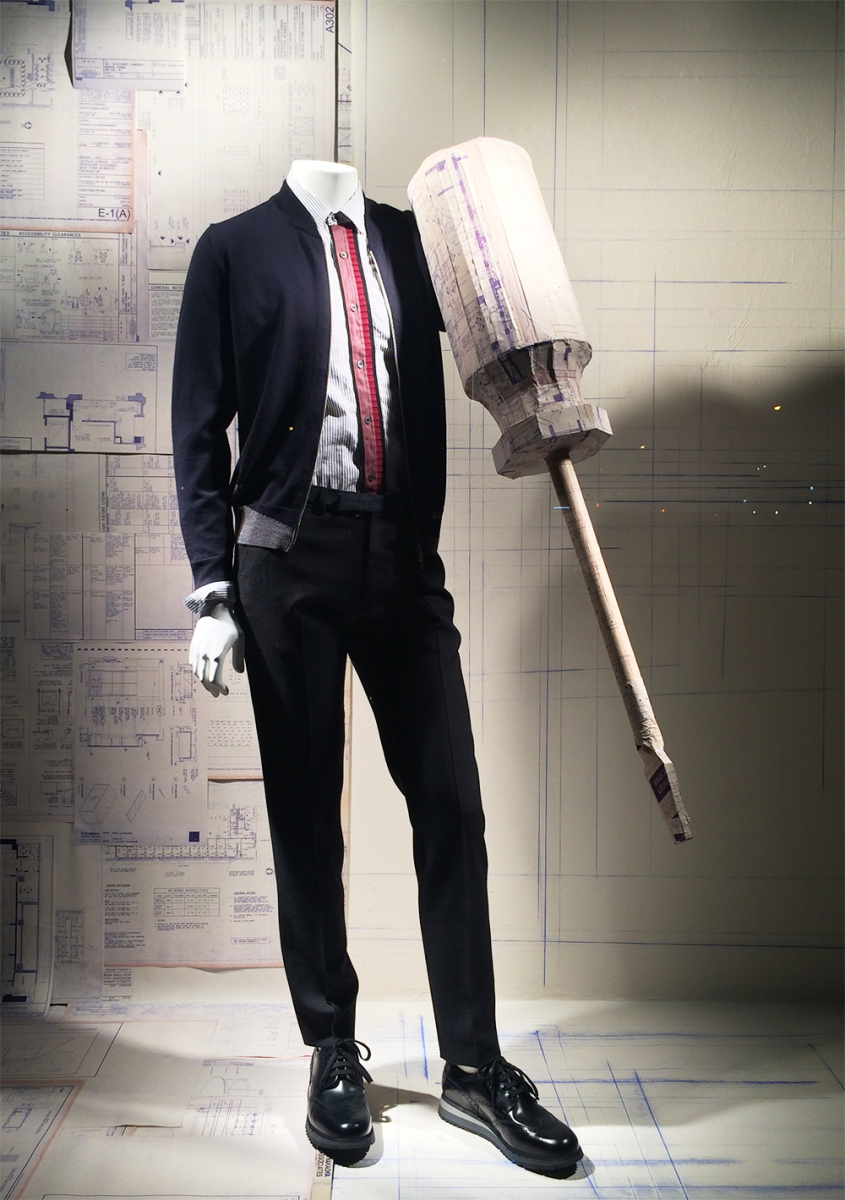 Bergdorf Goodman 'The Handy Man' Summer Window Display