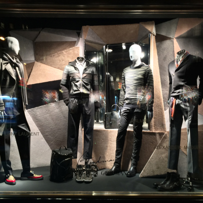 Bergdorf Goodman 'Goodmans on Display' Fall Window Displays