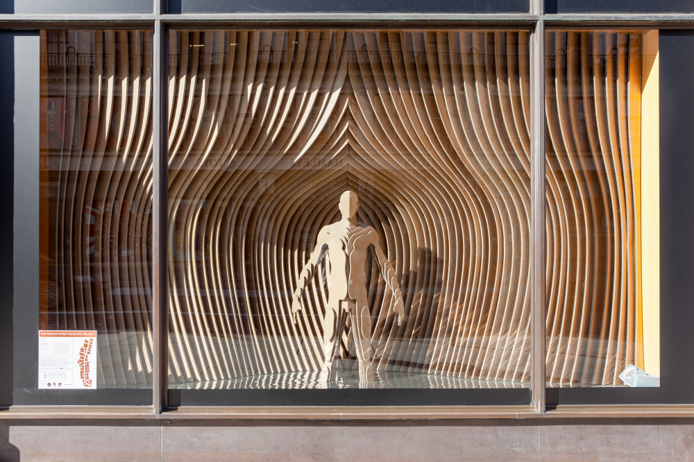 GANT RIBA Regent Street Window Displays by Sybarite Architects
