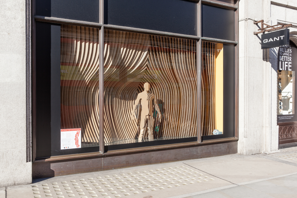 Gant riba regent street window displays by sybarite for Architecture windows