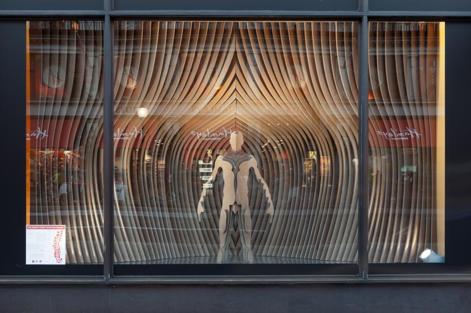Gant riba regent street window displays by sybarite architects best