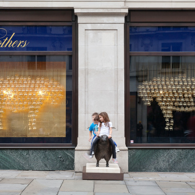 'Sheep' RIBA Regent Street Windows at Brooks Brothers by Squire and Partners
