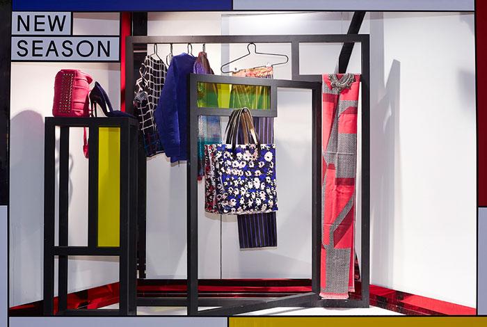 AW14 New Season Fashion & Accessories Liberty London Window Display