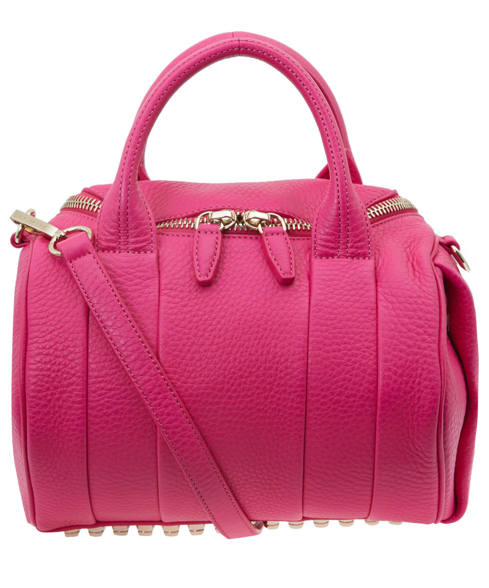 Alexander Wang Pink Rockie Pebble Leather Bag
