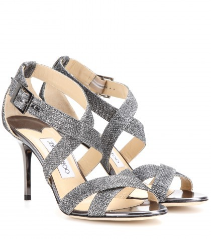 Jimmy Choo Sandals Sequins Louise