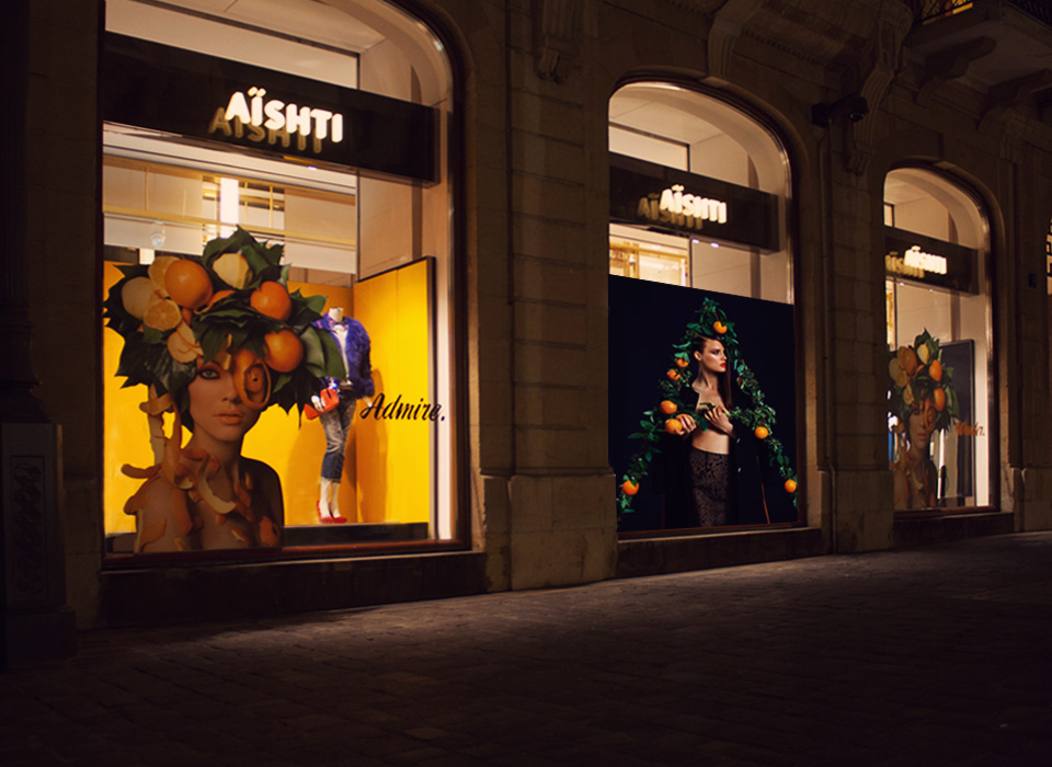 AISHTI Fall Window Display 2014 by ARTE VETRINA PROJECT