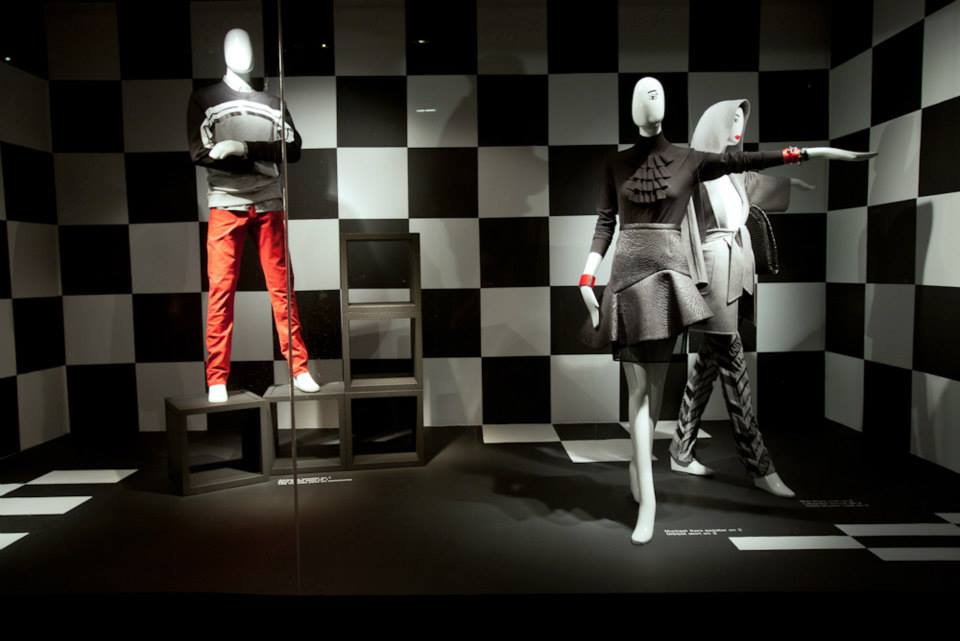 Holt Renfrew MOD Fall Window Displays