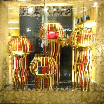 TOD'S 'Diwali' Window Displays by Marialuisa Cortesi