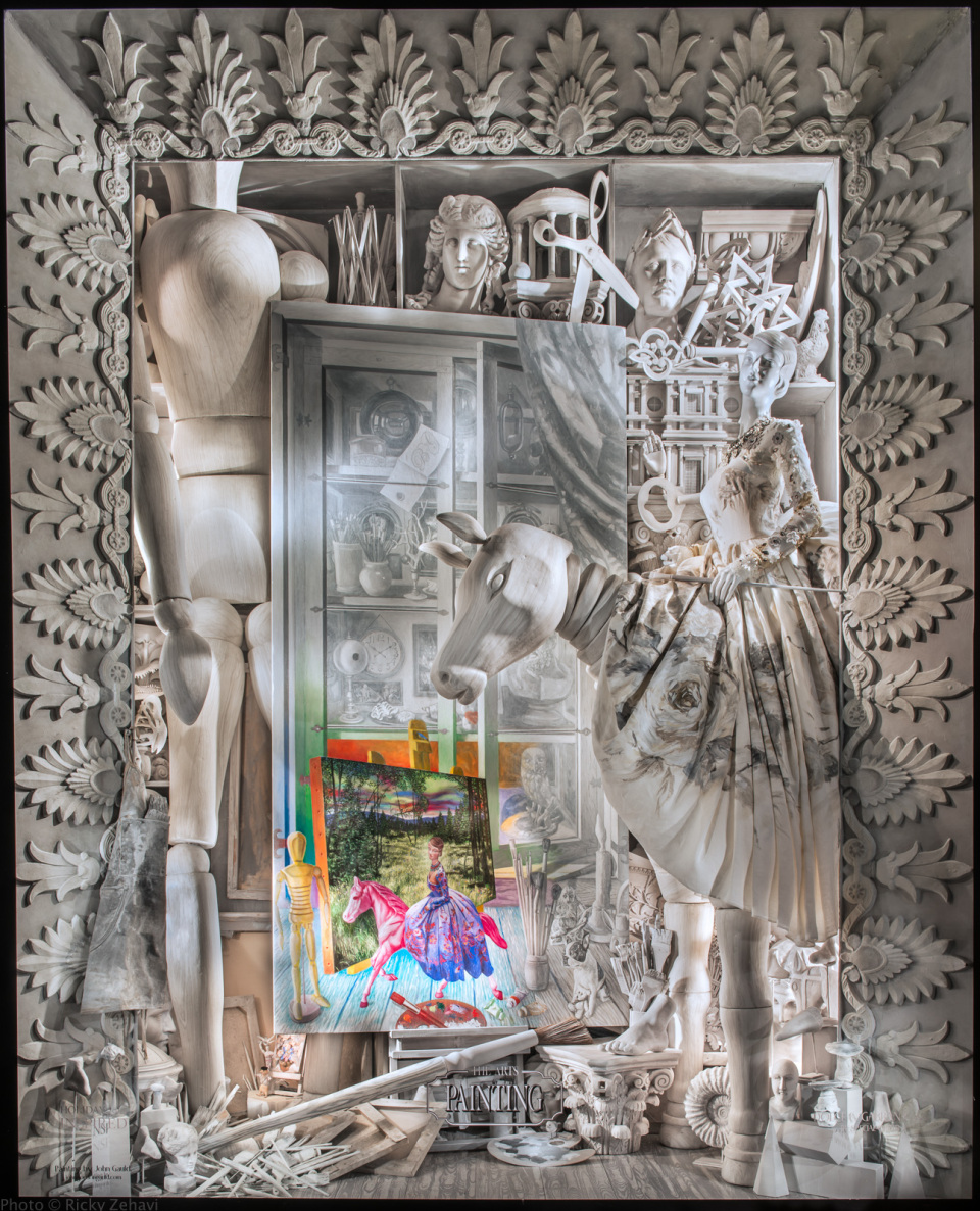 Bergdorf Goodman INSPIRED Holiday Window Displays 2014