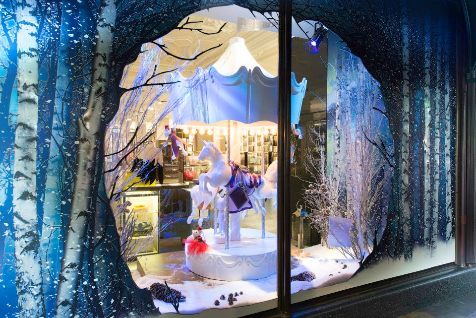 Harrods 'The Land of Make Believe' Christmas Window Displays 2014